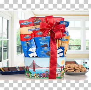 Food Gift Baskets Ghirardelli Chocolate Company Godiva Chocolatier Peppermint Bark PNG