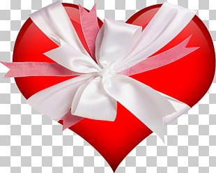 Heart Gift Valentines Day PNG