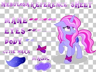 Horse Pink M PNG