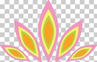 Symbol India Petal Pattern PNG