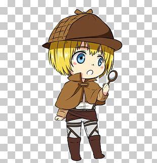 Armin Arlert Attack On Titan Manga Jean Kirschtein Chibi PNG