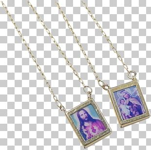 Locket Necklace Gold Chain Jewellery PNG