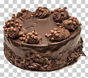 Ice Cream Chocolate Cake Chocolate Brownie Black Forest Gateau Birthday Cake PNG