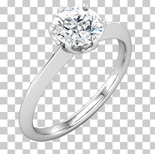 Engagement Ring Jewellery Gemstone Wedding Ring PNG
