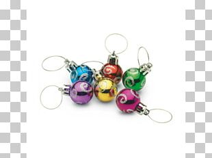 Earring Christmas Ornament Body Jewellery Bead PNG
