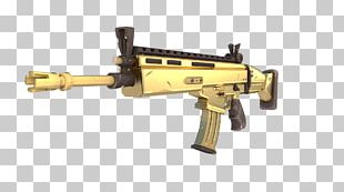 Fortnite Battle Royale Weapon Firearm FN SCAR PNG