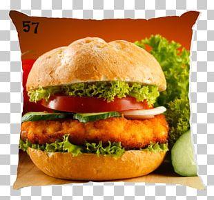 Hamburger Chicken Sandwich Cheeseburger Veggie Burger Steak Burger PNG