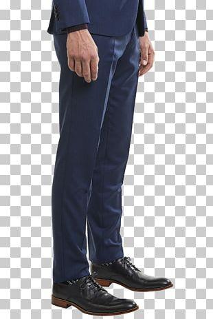 Jeans Cobalt Blue Denim Pants PNG