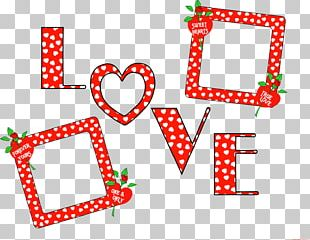 Valentine's Day Frames Ornament PNG