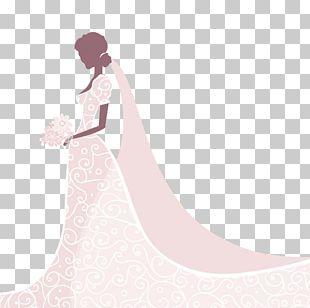 Wedding Dress Gown Bride Shoulder PNG