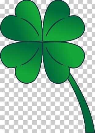 Four-leaf Clover Shamrock Saint Patricks Day PNG