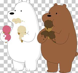 Ice Cream Baby Polar Bear Giant Panda PNG