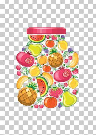 Juice Fruit Preserves Bottle PNG