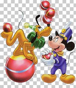Mickey Mouse Pluto Donald Duck Circus PNG