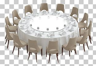 Round Table Chair PNG