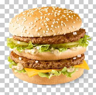 McDonald's Big Mac Hamburger Big N' Tasty Cheeseburger PNG