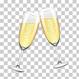 Champagne Glass Beer PNG