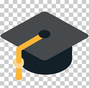 Emoji Graduation Ceremony Square Academic Cap Graduate University PNG