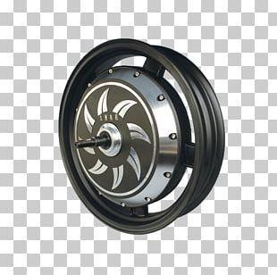 Wheel Hub Motor Electric Vehicle Brushless DC Electric Motor PNG
