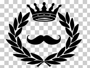 Corona Crown And Stache Barber Company Shaving Hairstyle PNG