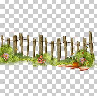 Fence Flower Garden PNG