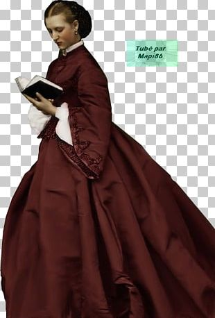 Robe Gown Costume Design PNG