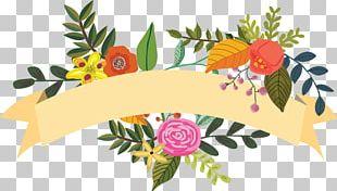 Floral Design Art Illustration PNG