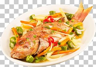 Jamaican Cuisine Fried Fish Escabeche Seafood PNG