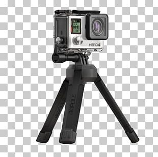 GoPro Point-and-shoot Camera Tripod Video Cameras PNG