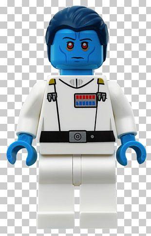 Grand Admiral Thrawn Admiral Piett Lego Minifigure Lego Star Wars PNG