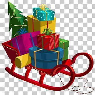 Santa Claus Christmas Card Child PNG