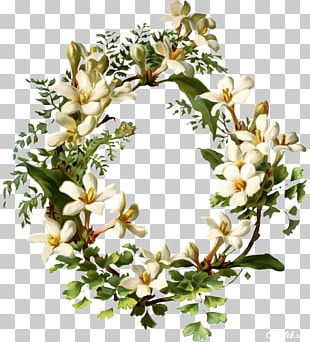 Flower Bouquet Wreath Garden Roses Embroidery PNG