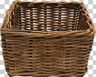 Basket Bamboo PNG
