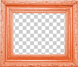 Frame Orange Film Frame PNG