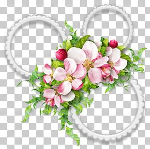 Frames Digital Scrapbooking Flower PNG
