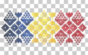 Romanian Flag Of Romania Folklore Pattern PNG
