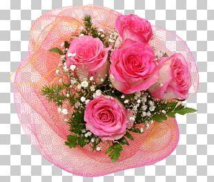 Flower Bouquet Cut Flowers Floral Design Garden Roses PNG