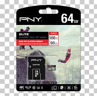 Flash Memory Cards MicroSD Secure Digital PNY Technologies USB Flash Drives PNG