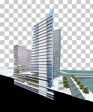 Commercial Building Architecture Facade PNG