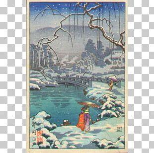 Japanese Wood-block Prints Woodblock Printing Japanese Art PNG
