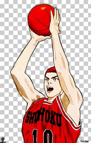 Sakuragi Hanamichi Rukawa Kaede Slam Dunk Basketball PNG