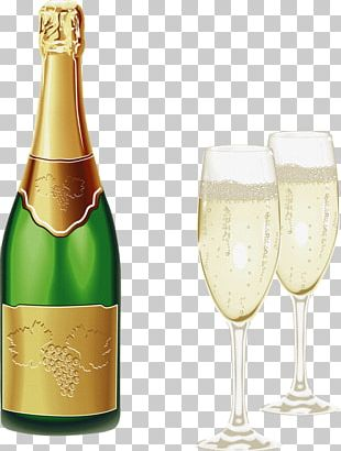 Champagne Glass Sparkling Wine Beer PNG