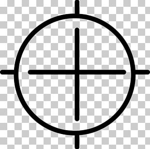 Telescopic Sight Reticle Computer Icons PNG