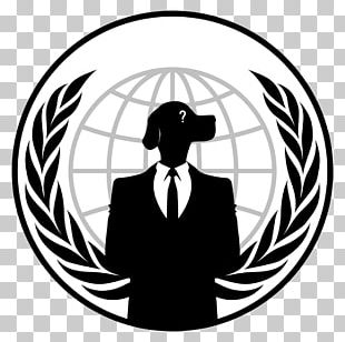 Anonymous Logo Hacktivism Security Hacker PNG