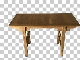Trestle Table Furniture Dining Room Chair PNG