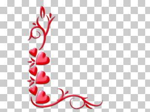 Love Valentines Day Heart PNG