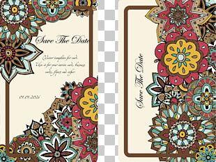 Wedding Invitation Convite Pattern PNG