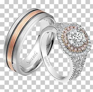 Engagement Ring Jewellery Wedding Ring Diamond PNG