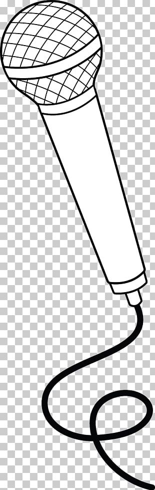 Microphone Drawing Cartoon PNG