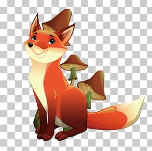 Mr. Fox Illustration PNG